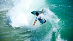 Jonathan Gonzalez at the US Open of Surfing