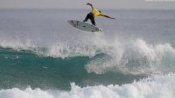 Defending ASP World Junior Champion Maxime Huscenot