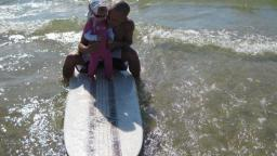 great lakes surfers James & Niece