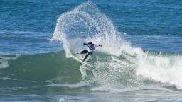 Bobby Hansen at Wainui Beach