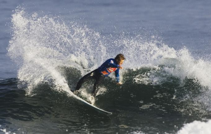Action From The 2008 Quiksilver Portrush Open Surfing