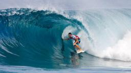 Joel Parkinson Scores Perfect 20 at the Billabong Pipeline Masters
