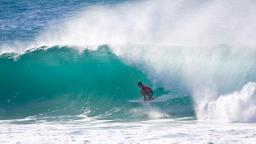 Michael Picon at the Billabong Pipeline Masters