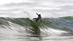 More action from the O'Neill Cold Water Classic Cali