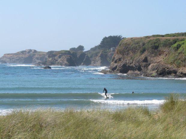 Caspar Beach Surfing Pictures