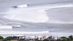 Main venue of the inaugural Yop Reunion Surf Pro Junior