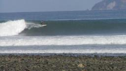 pavones costa rica - perfect and clean wave
