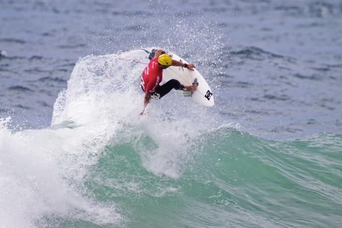 Marc Lacomare Scores 8.83 at the Billabong WJC  Narrabeen