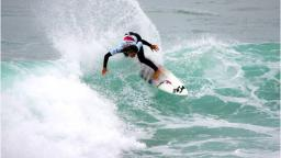 Courtney Conlogue at the Estoril Surf Billabong Girls