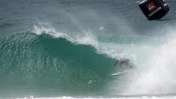 Bede Durbidge Barreled on the Gold Coast