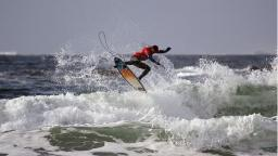 Josh Kerr winner of the O'Neill Cold Water Classic Canada