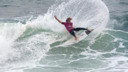 Kai Otton at the Quiksilver Pro France
