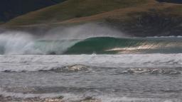 Clean Barrel on NZ South Island
