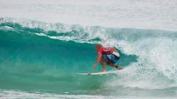 Slater Barreled at Snapper Rocks