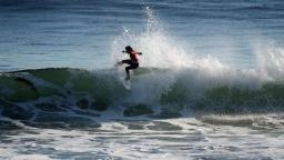 Tim Reyes Performs at the O'Neill Cold Water Classic Santa Cruz