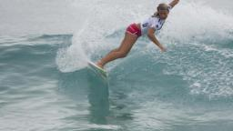 Paige Hareb at Snapper Rocks
