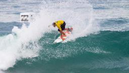 Joel Parkinson in action in the Billabong Rio