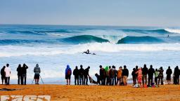 Pumping waves at the Quiksilver Pro France