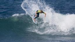 Chelsea Hedges in form at Bells Beach