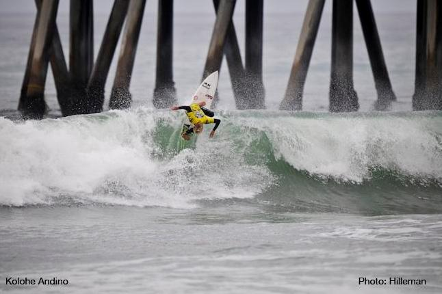 Kolohe Andino at Huntington Beach Pier