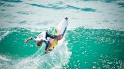 Simpson Takes Back-to-Back US Open of Surfing Titles