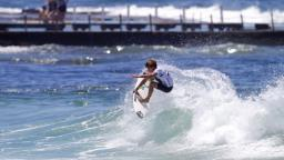 Luke Davis at North Narrabeen Beach