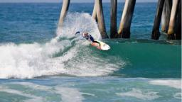 Cody Thompson at the Vans Pier Classic