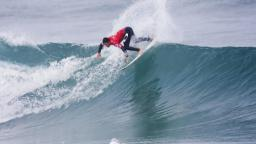 Adriano de Souza surfing at Belgas in the Rip Curl Pro Seach