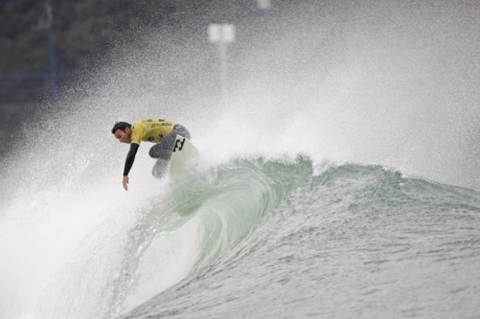 Joel Parkinson Preparing for the Billabong Pro Mundaka