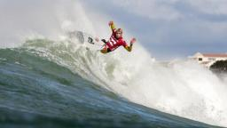 Mick Fanning at the 2010 Billabong Pro Jeffreys Bay