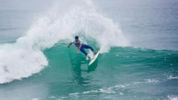Heitor Alves at the Quiksilver Pro France