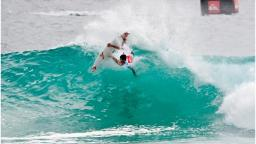 Jeremy Flores at the Quik Pro Snapper