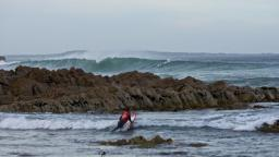 Paddle out at the O'Neill CWC