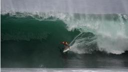Ricky Whitlock at the Quiksilver Pro Puerto Escondido