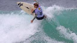 Rebecca Woods at the Beachley Classic at Dee Why