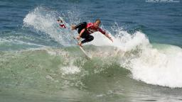 Ian Fontaine winning the Billabong Pro Junior Sopelana
