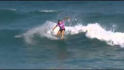 Sally vs Stephanie Semis 2 - 2011 Billabong Rio Pro
