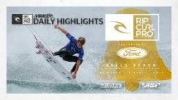 Day 3 Mirage Daily Highlights - Rip Curl Pro Bells Beach 2013