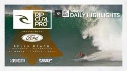 Men's Round 2 - Mirage Daily Highlights - Rip Curl Pro Bells Beach 2013