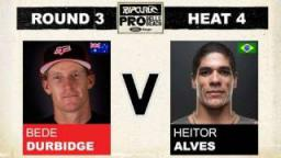 Rip Curl Pro 2011 R3, H4 - Bede Durbidge vs Heitor Alves