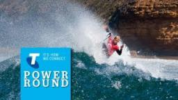 Rip Curl Pro Day 3 Telstra Power Round Wrap