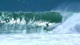 Burleigh Heads Goes Off Cyclone Hamish