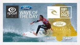 Day 2 Ford Wave Of The Day - Rip Curl Women's Pro 2013