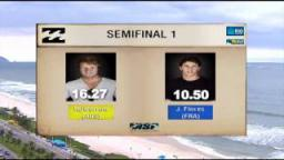 Taj Burrow Vs Jeremy Flores Semis 1 - 2011 Billabong Rio Pro