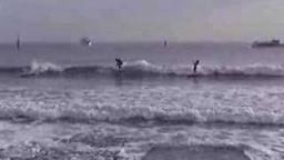 quiberon surfing small waves