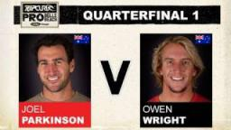 Rip Curl Pro 2011 Quarterfinal 1 - Joel Parkinson vs Owen Wright