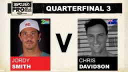 Rip Curl Pro 2011 Quarterfinal 3 - Jordy Smith vs Chris Davidson