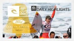 Women's Final Daily Highlights - Rip Curl Women's Pro Bells Beach 2013
