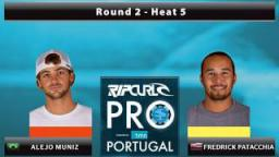 Round 2 - Heat 5: Muniz vs. Patacchia