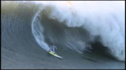 Joao De Macedo Wipeout at Mavericks